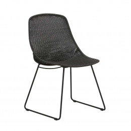 Granada Scoop Closed Weave Dining Chair