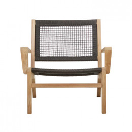 Haven Rope Arm Occasional Chair