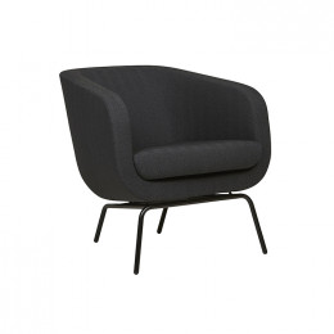 Juno Tub Metal Leg Occasional Chair