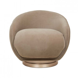 Theodore Scoop Occasional Chair