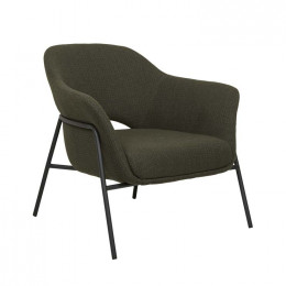 Vittoria Metal Leg Occasional Chair