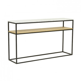 Baxter Marble Cube Console