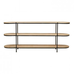 Merricks Oval Shelf Console