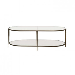 Amelie Oval Coffee Table