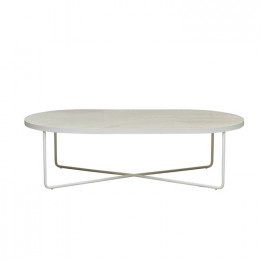 Elle Camilla Oval Coffee Table