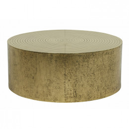 Taj Round Metal Coffee Table