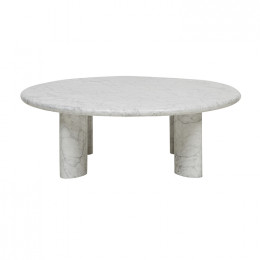 Amara Ellipse Round Coffee Table