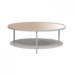 Amara Pipe Mirror Coffee Table