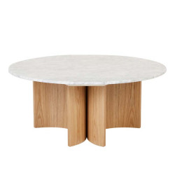 Oberon Eclipse Marble Coffee Table