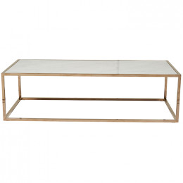 Elle Cube Marble Coffee Table
