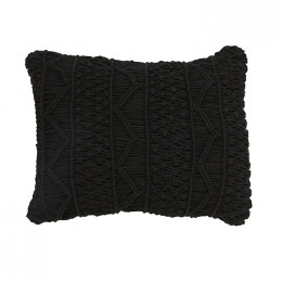 Balthazar Macrame 55x38cm Cushion
