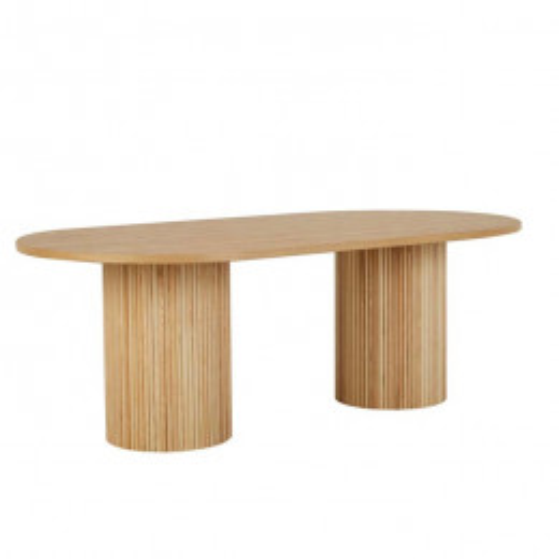 Benjamin Ripple Oval Dining Table