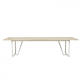 Shelter Trestle Dining Table