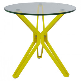 Elle Pin Round Side Table