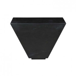 Rufus Block Angled Marble Side Table