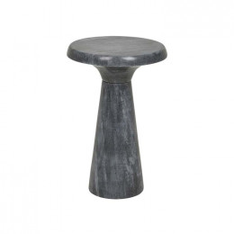 Rufus Contour Marble Side Table