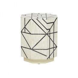 Taj Bone Abstract Side Table