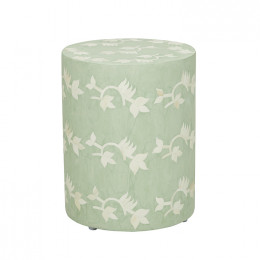 Taj Floral Side Table