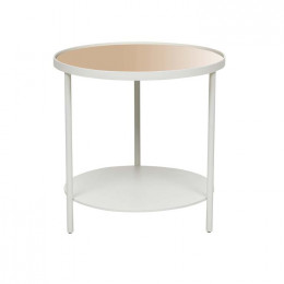 Amara Pipe Mirror Side Table
