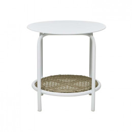 Aperto Rounded Side Table