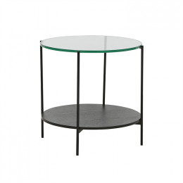 Clermont Layer Side Veneer Table