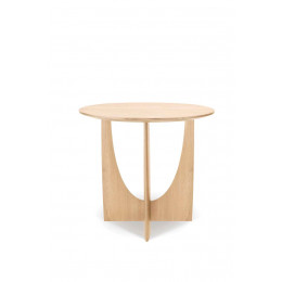 Ethnicraft Geometric Side Table