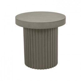 Ossa Ribbed Side Table