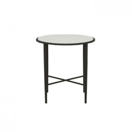 Verona Luna Cross Side Table