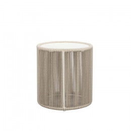 Villa Rope Tall Side Table