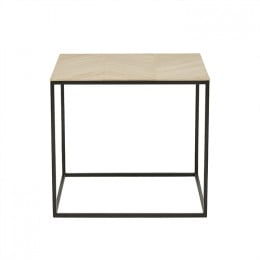 Henley Chevron Side Table