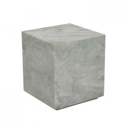 Rufus Block Square Marble Side Table