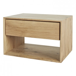 Ethnicraft Nordic 1 Drawer Bedside