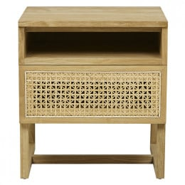 Willow Woven Bedside
