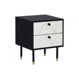 Zahra Feather Bedside