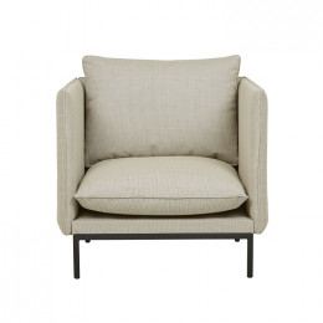 Aperto Curve 1 Seater Sofa