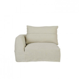 Cove Seamed 1 Seater Left Arm