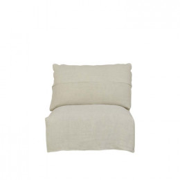 Cove Seamed 1 Seater Armless