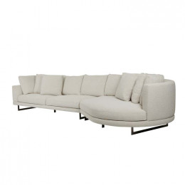 Hugo Grand Right Chaise Set