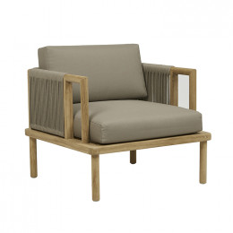 Tahiti Rope 1 Seater Sofa