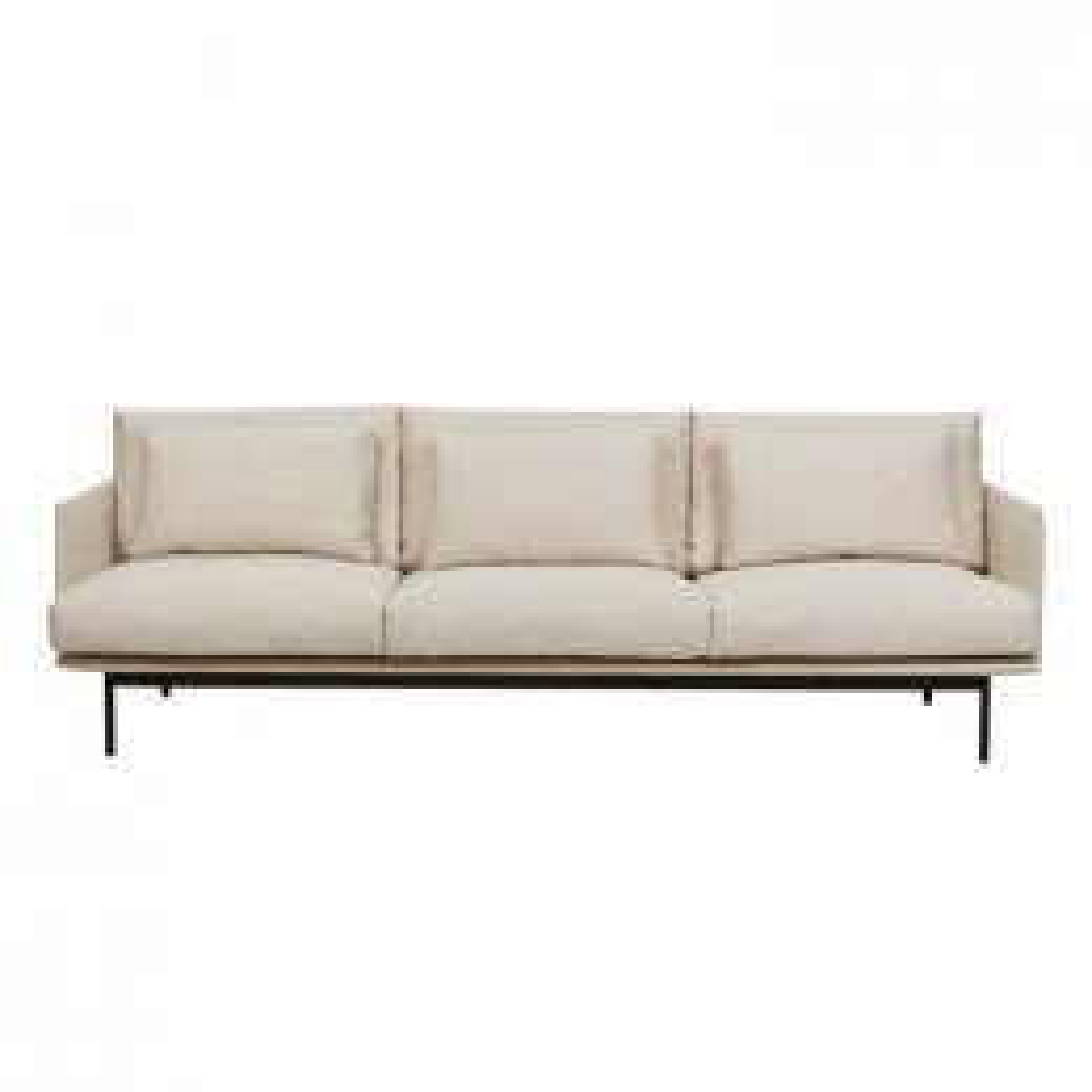 Tolv Cherry 3 Seater Sofa
