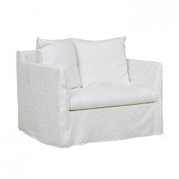 Vittoria Slip Cover 1 Seater Sofa