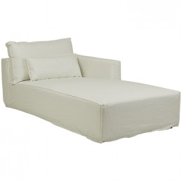 Vittoria Square Slip Cover Right Chaise