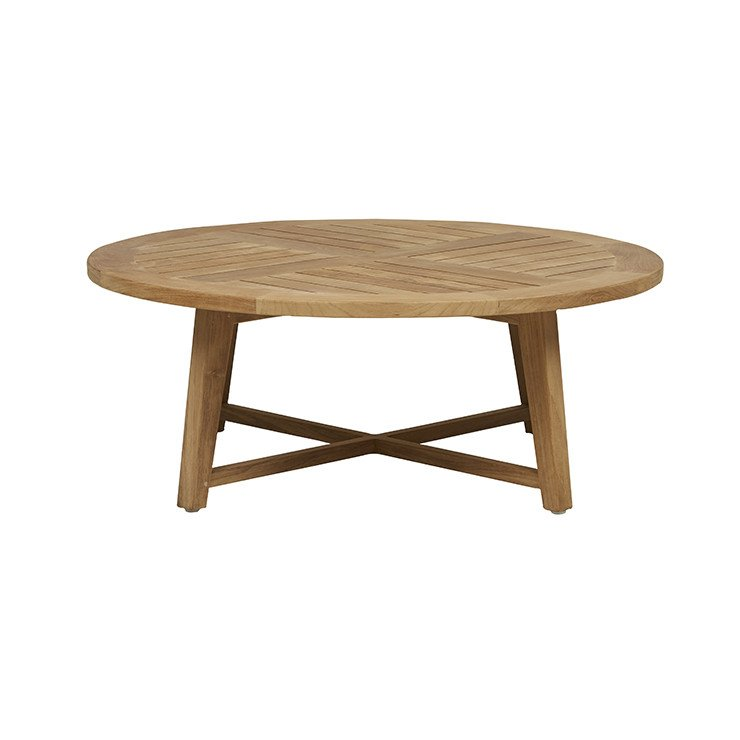 Sonoma Slat Round Coffee Table