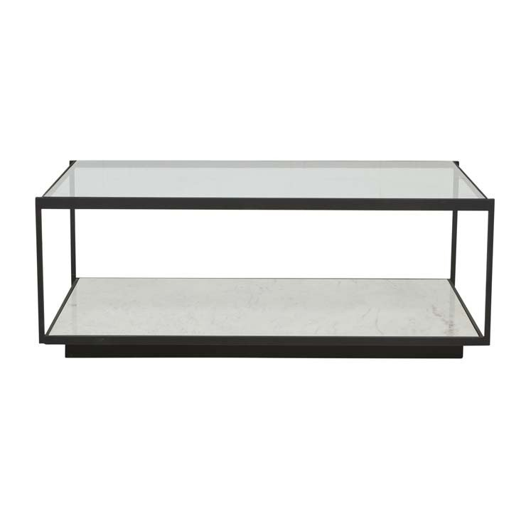 Amelie Linear Marble Coffee Table
