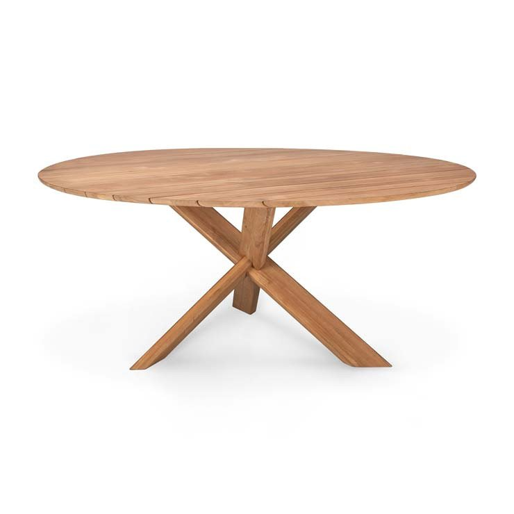 Ethnicraft Outdoor Circle Dining Table