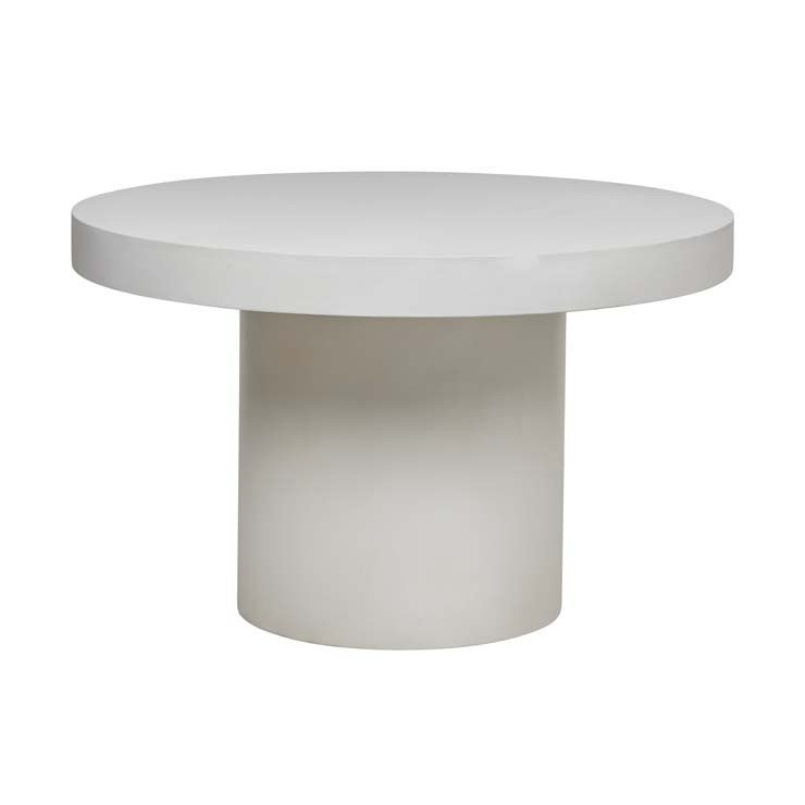 Ossa Concrete Round Dining Table