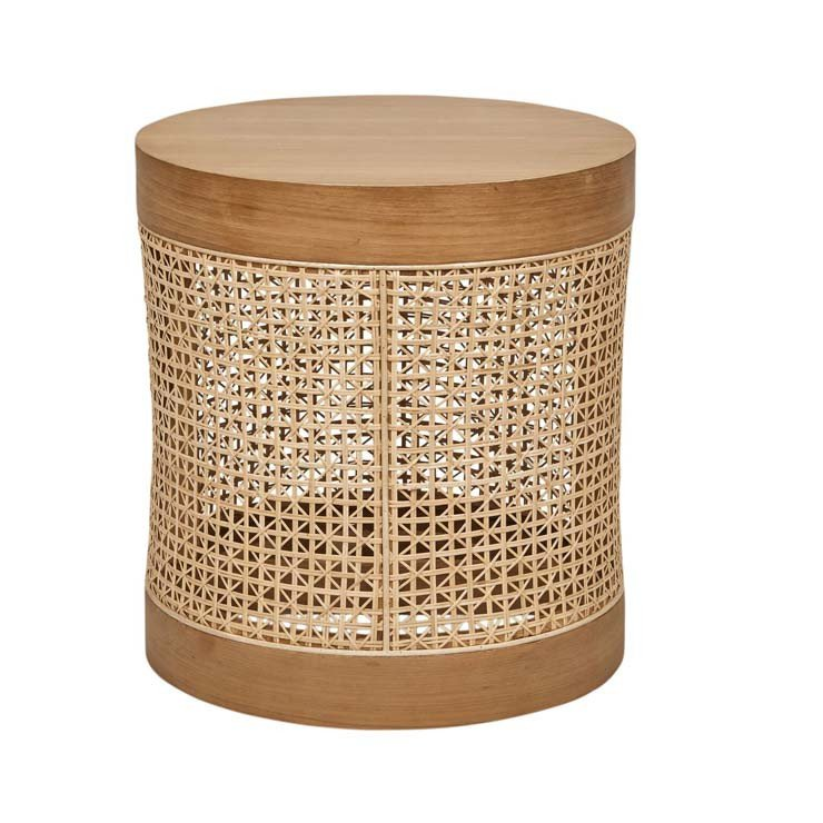 Willow Woven Side Table