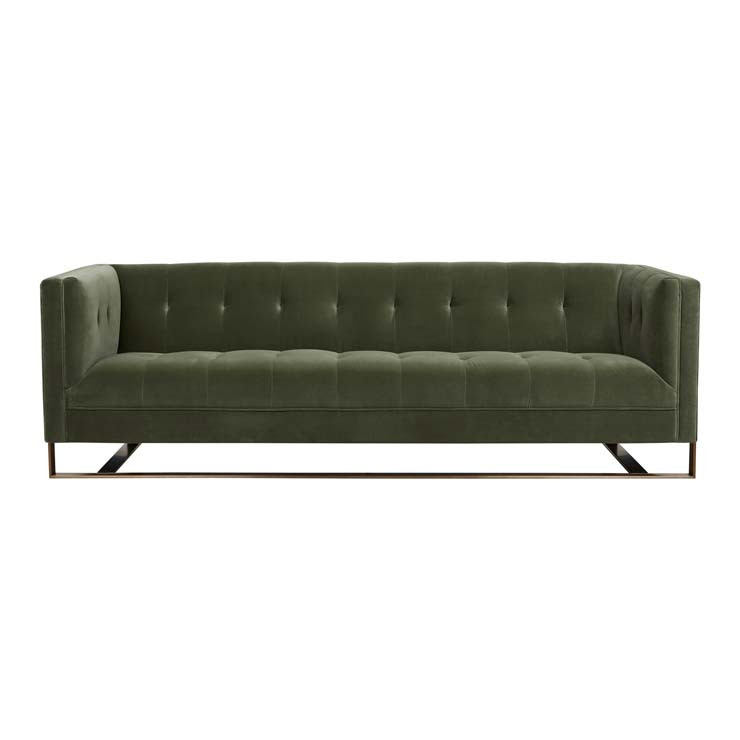 Kennedy Tufted 3 Seater Sofa