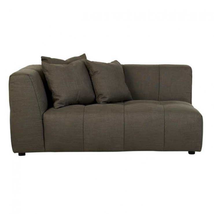 Sidney Slouch 2 Seater Left Arm Sofa