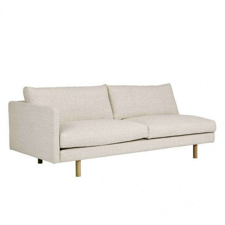 Sketch Base 2 Seater Left Arm Sofa